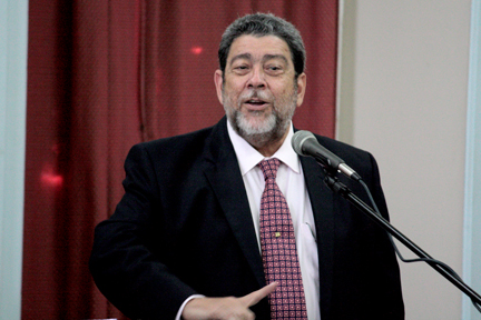 """... I know the people of this country will see the sense of which I am talking band will say it's high time that we stop a lot of foolish ill-discipline which goes on with some people,"" Gonsalves told Parliament."