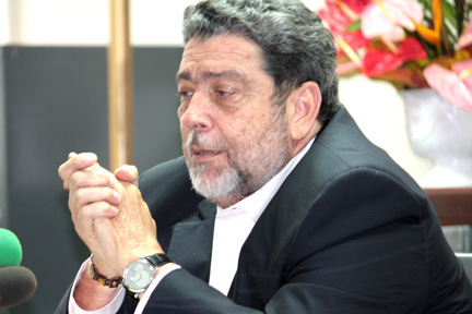 "Prime Minister Dr. Ralph Gonsalves says he has been briefed ""broadly"" about the incident."