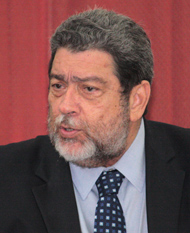 Prime Minister Dr. Ralph Gonsalves (IWN file photo)