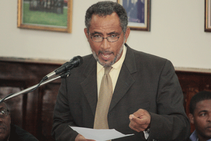 MP for the Northern Grenadines, Dr. Godwin Friday. (IWN file photo)