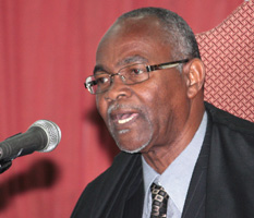 Speaker of the House of Assembly, Hendrick Alexander. (IWN file photo)
