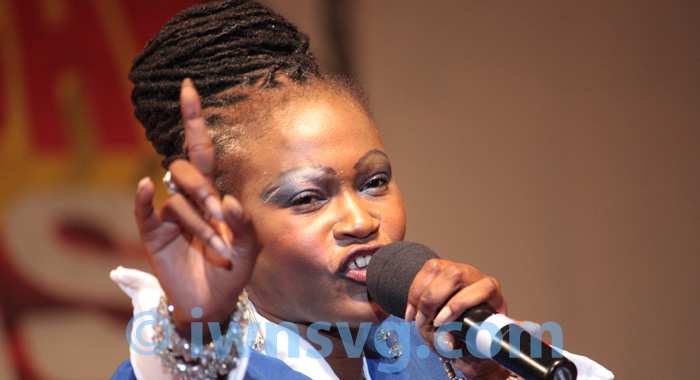 "Lornette ""Fya Empress"" Nedd is the reigning calypso Monarch. (File photo)"