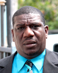 Lawyer Israel Bruce says police have not questioned his client in relation to the June 13 robbery and shooting in Kingstown. (IWN photo)