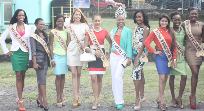 Miss Carival Contestants 2013