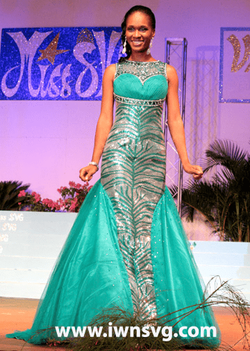 First Runner-up -- Best Swimwear -- Miss Congeniality Anna Laborde - Miss Metrocint General Insurance Co. Ltd.