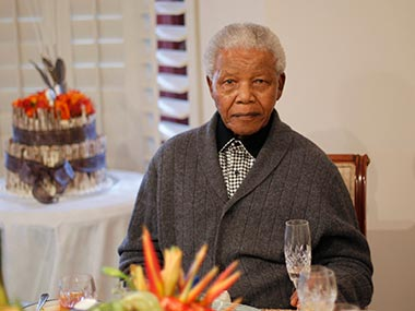 Former president of South AFrica, Nelson Mandela is seen in this undated Reuters photo.