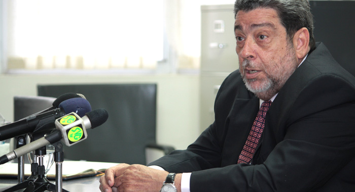 Prime Minister Dr. Ralph Gonsalves. (IWN file photo)