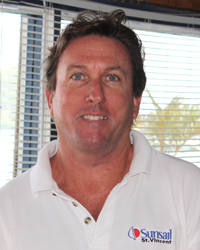 Simon Carey, general manager of Sunsail St. Vincent. (IWN photo)