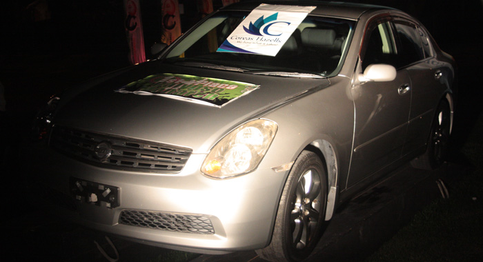 The Soca And Calypso Monarch Wille Each Receive A Car. (Iwn Photo)