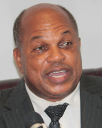 SEn. Linton Lewis, the NDP's candidate for East. St. George. (IWN photo)