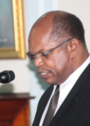 President of the Bar Association and Opposition senator, Dr. Linton Lewis. (IWN file photo)
