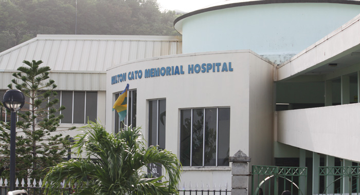 The child died at Milton Cato Memorial Hospital, the nation's main health care facility. (IWN file photo)