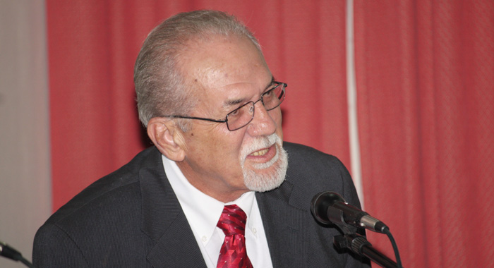 Minister of Transport and Works, Sen. Julian Francis., who is also ULP general secretary is also a member of the committee. (IWN file photo)
