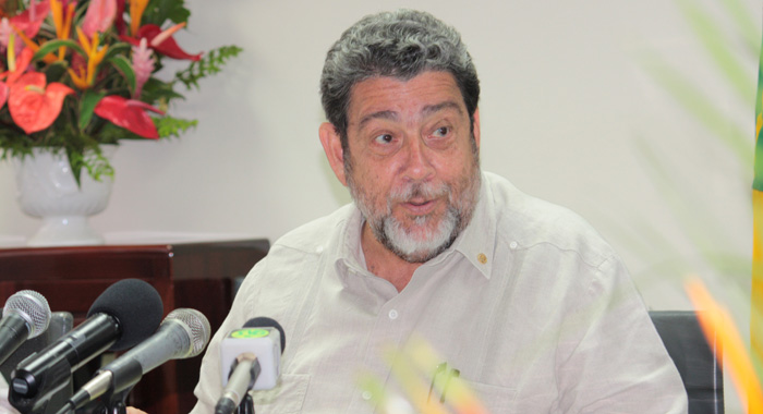 Prime Minister Dr. Ralph Gonsalves. (IWN photo)