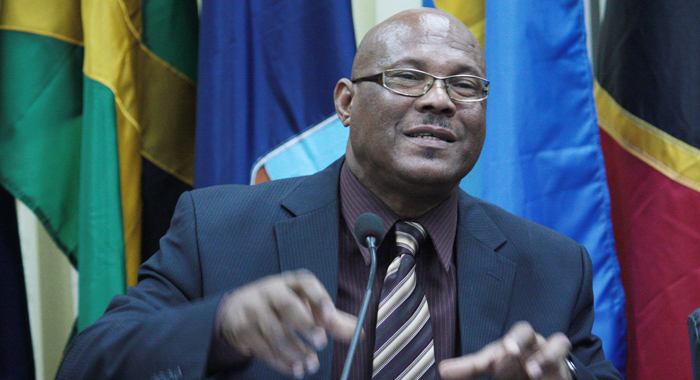 Dominica's Minister of Agriculure, Matthew Walter.