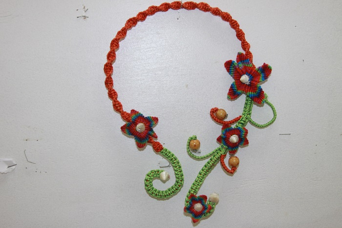 3-D Visual Art – Elaborate Necklace by Ranolyn Hunt, St Mary's College, Jamaica