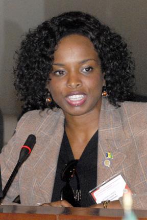 Ambassador La Celia Prince.