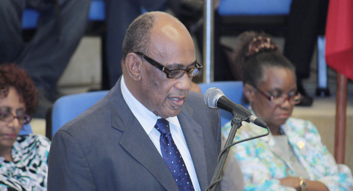 Dr. Arlington Chesney, Director of the Caribbean Agriculture Research and Development Institute.
