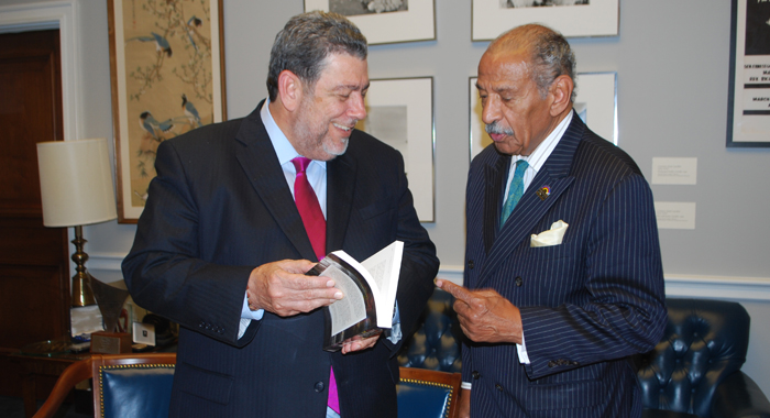 PM Gonsalves and Hon. John-Conyers.