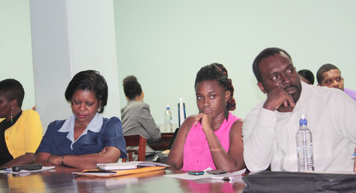 Some participants in the workshop last week. (IWN photo)