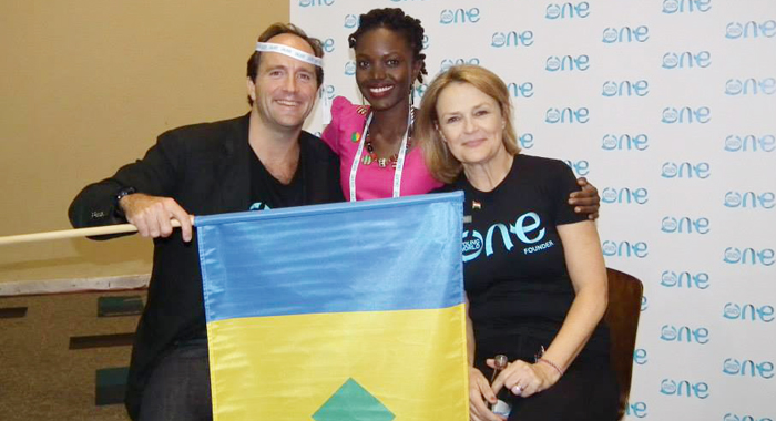 Founders of OYW David Jones and Kate Robertson.