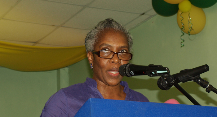 Social and political activist ,Luzette E. King.