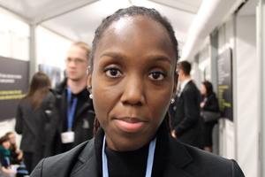 Trinidadian negotiator, Rueanna Haynes.