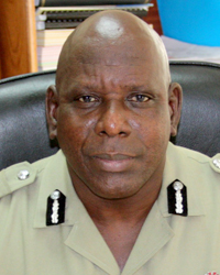 Acting Commissioner of Police, Michael Charles.