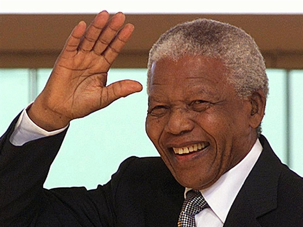 Freedom fighter Nelson Mandela died on Thursday at age 95. (Inernet photo)