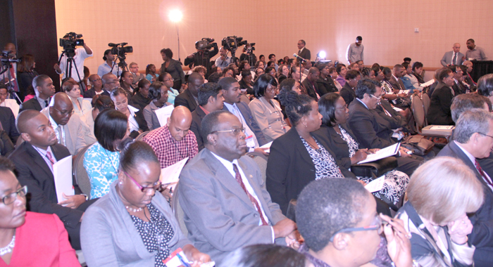 Participants at the one-day consultation. (IWN photo)