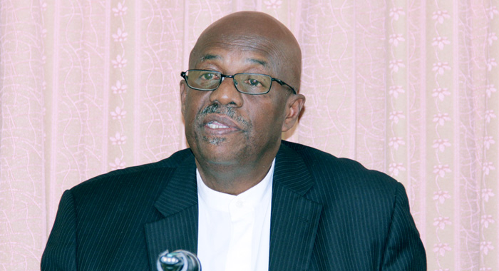 Opposition Leader, Arnhim Eustace. (IWN File Photo)