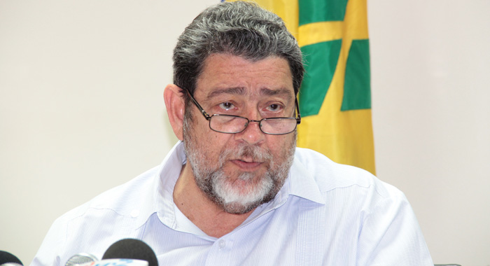 Prime Minister Ralph Gonsalves .  (IWN file photo)