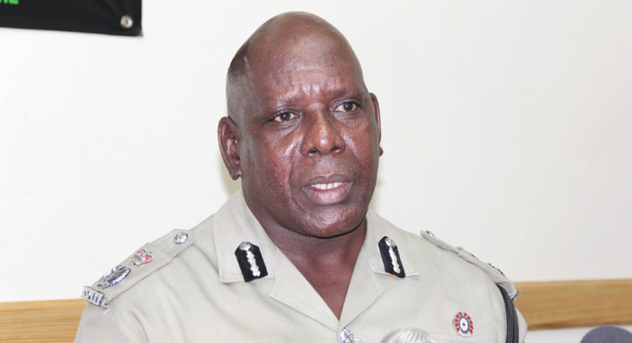 Commissioner of Police, Michael Charles. (IWN photo)