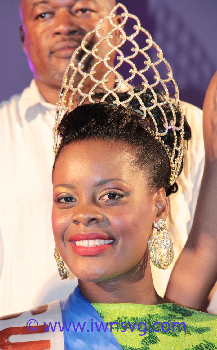 Miss Easterval 2014, Miss Union Isalnd Phillis Dembar. (IWN photo)