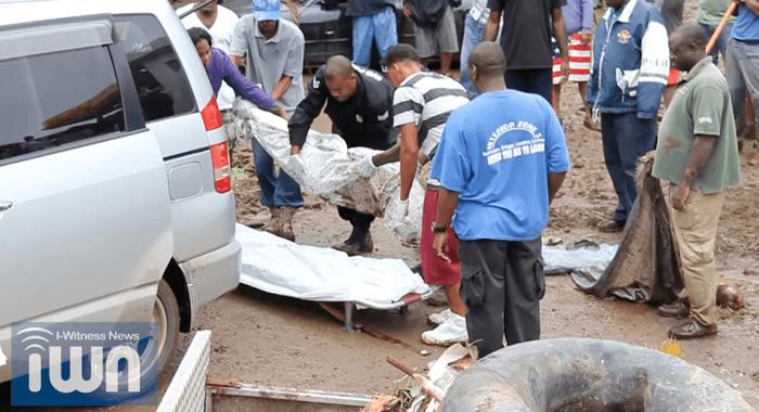 Buccament Floods Deaths