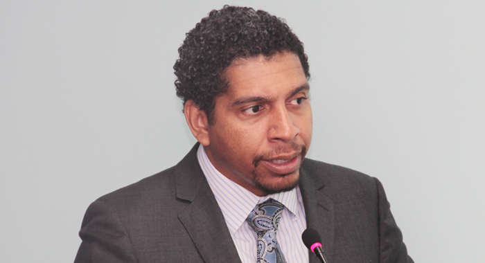 Minister of Foreign Affairs, Camillo Gonsalves. (IWN file photo)