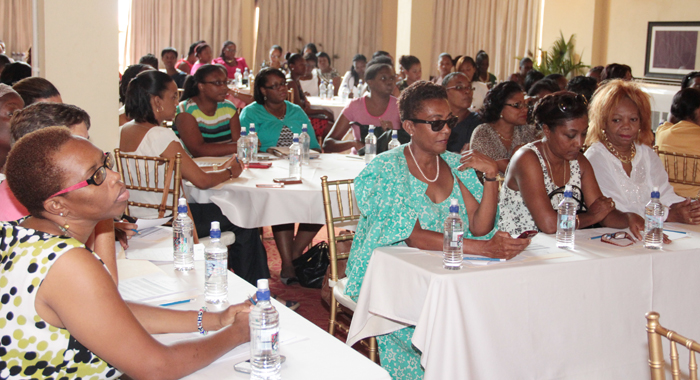 Participants in the First Citizens Investment Services women's conference.