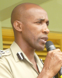 Assistant Commissioner of Police-Operations, Christopher Benjamin.