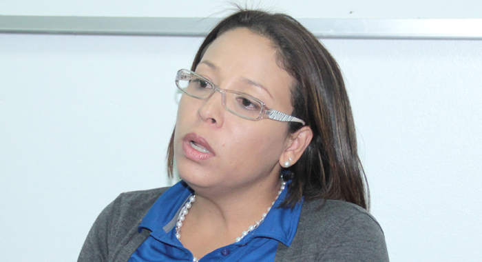 Shelly Ann Hee Chung, FLOW's vice-president, sales and marketing for the eastern Caribbean. (IWN photo)