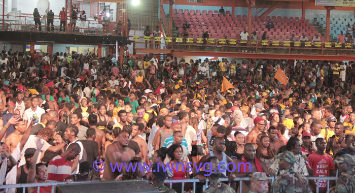 A large and energetic crowd attended the show. (IWN photo)