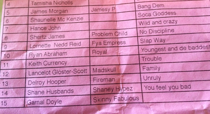 Skinny's song was the only one not listed on the programme for Saturday's show. (IWN photo)