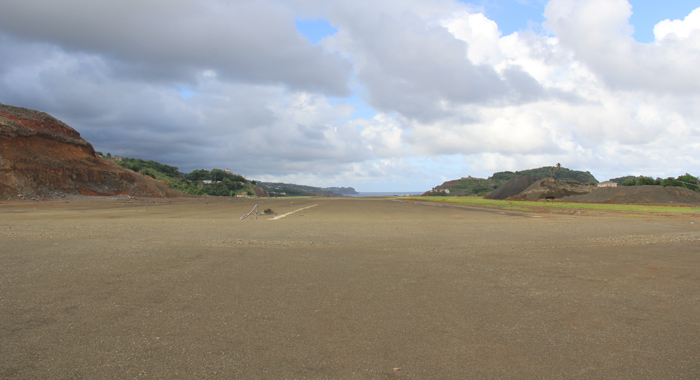 The view from one of the ends of the runway. (IWN photo)