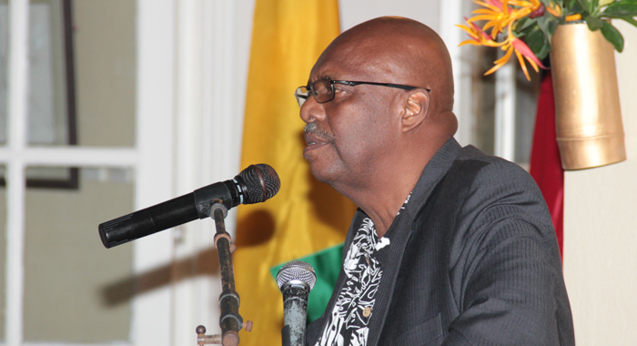 Opposition Leader Arnhim Eustace said Taiwan and SVG have a loving and respectful relationship. (IWN photo)