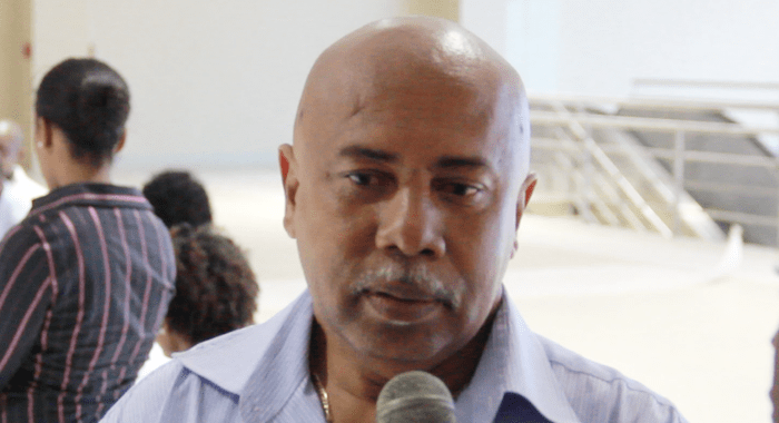 """Minister of Tourism, Sports and Culture, Cecil """"Ces"""" McKie. (IWN image)"""