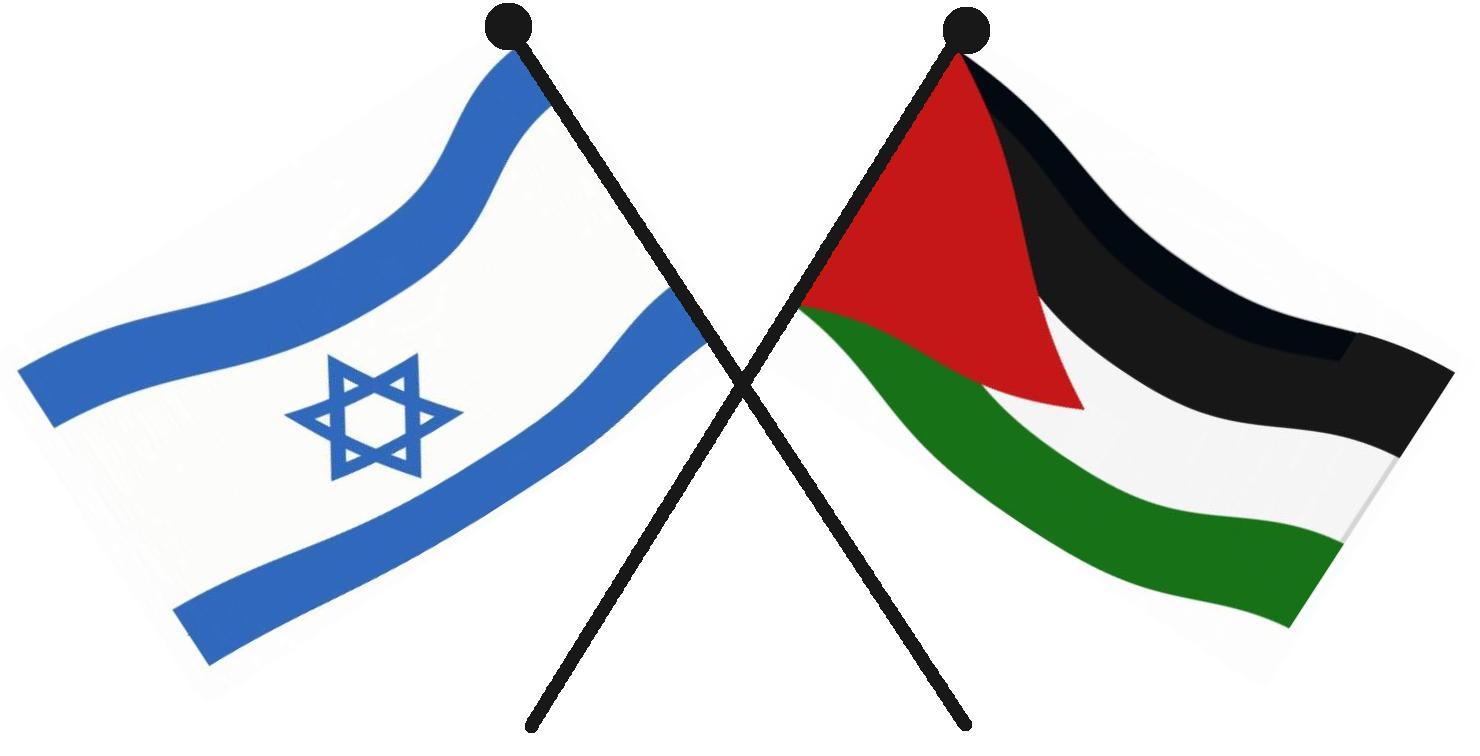 Israelpalestine Flags1