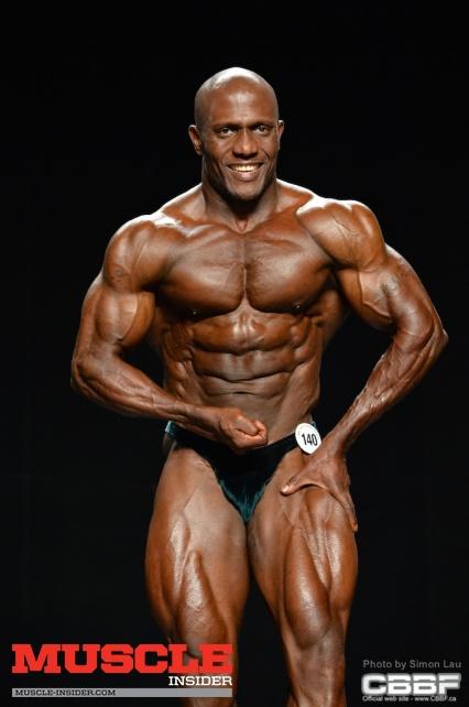 Vincentian bodybuilder Efford Rogers.