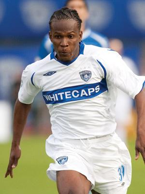 Goalscorer Corneilus Stewart.