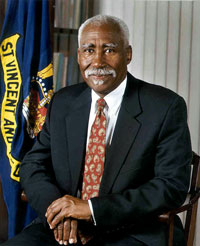 Governor-General of St. Vincent and the Grenadines His Excellency Sir Frederick N. Ballantyne.