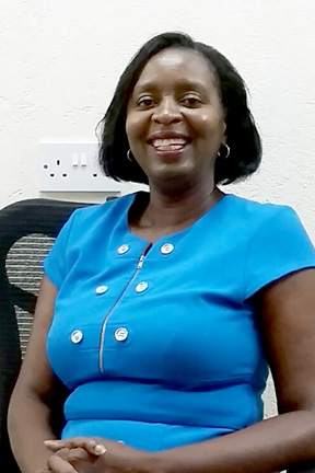 Gailene Collins-Crick, general manager of Buccament Bay Resort.