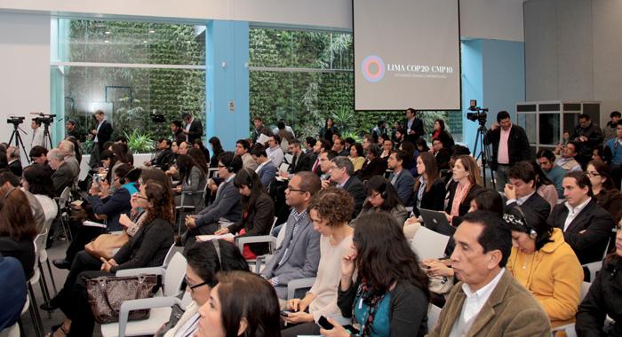 Lima workshop participants